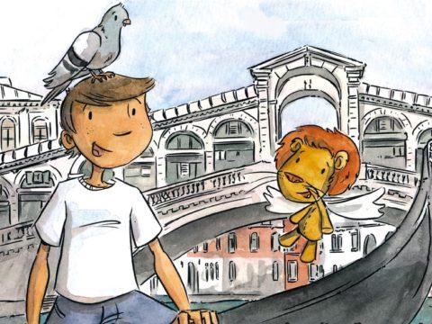 Tour enfants d'âge préscolaire inspiré par Arthur à Venise