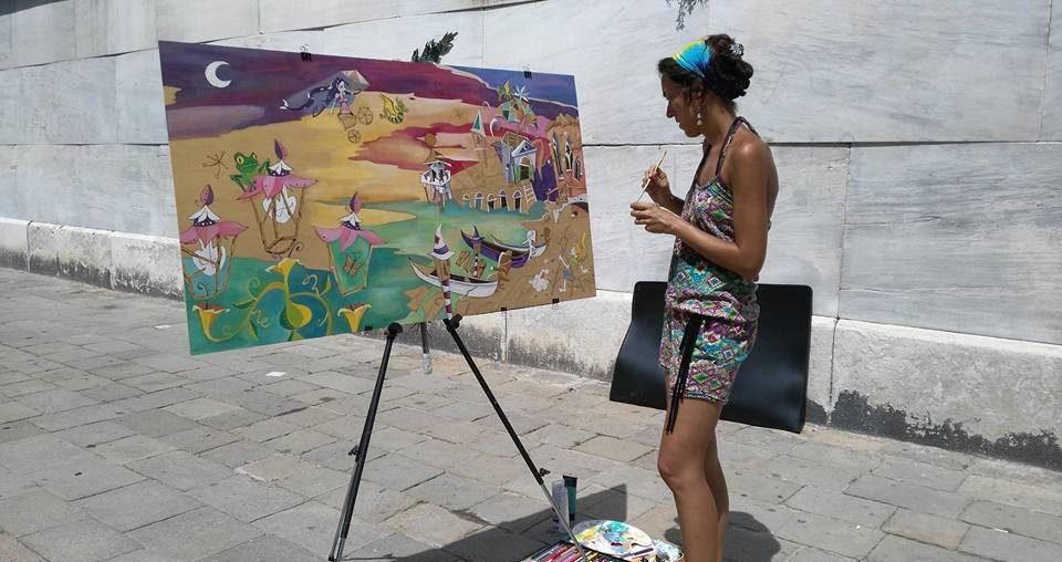 noemi lezioni di pittura a venezia