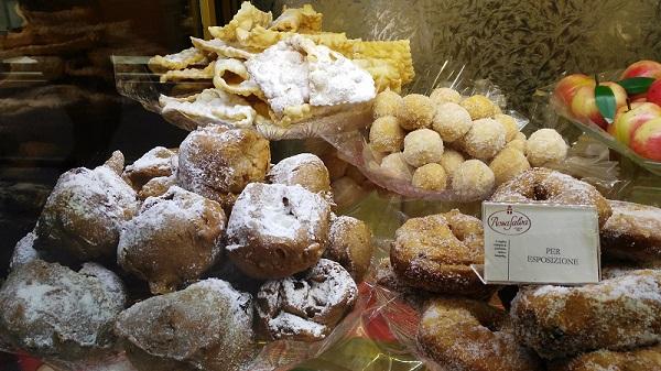frittelle galani venezia
