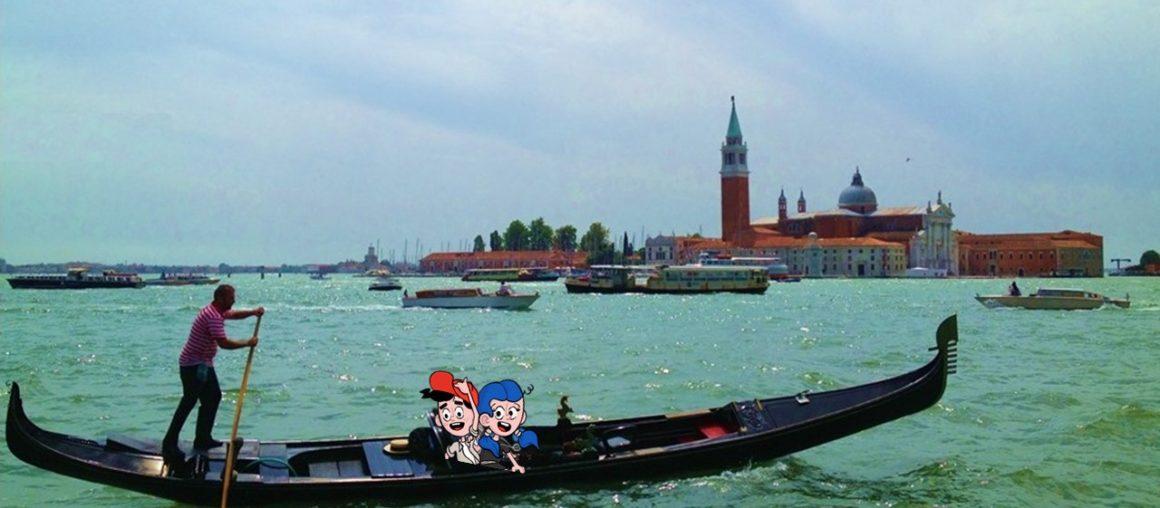 Un giro in gondola per scoprire Venezia in famiglia
