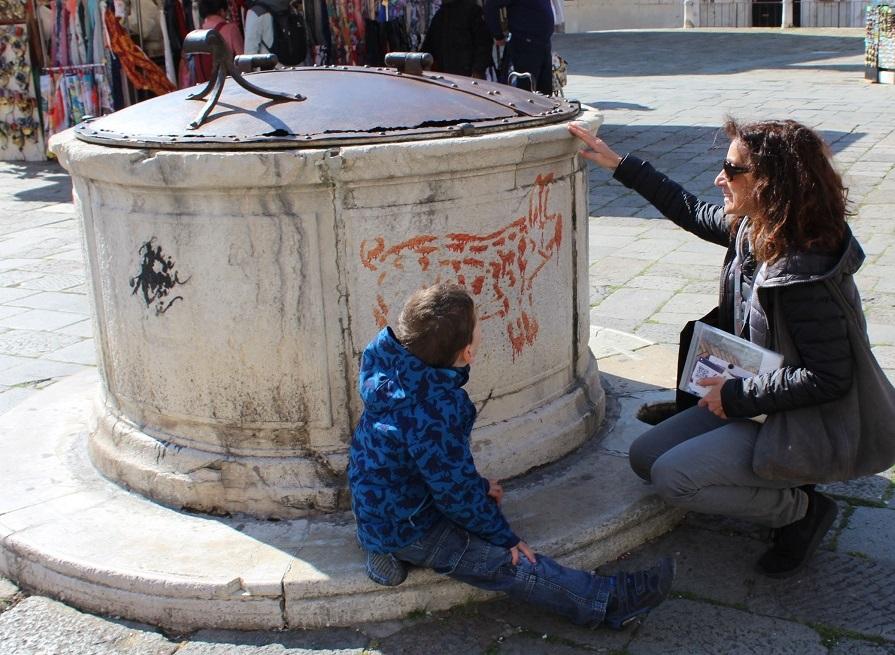 Pozzo graffiti venezia bambini