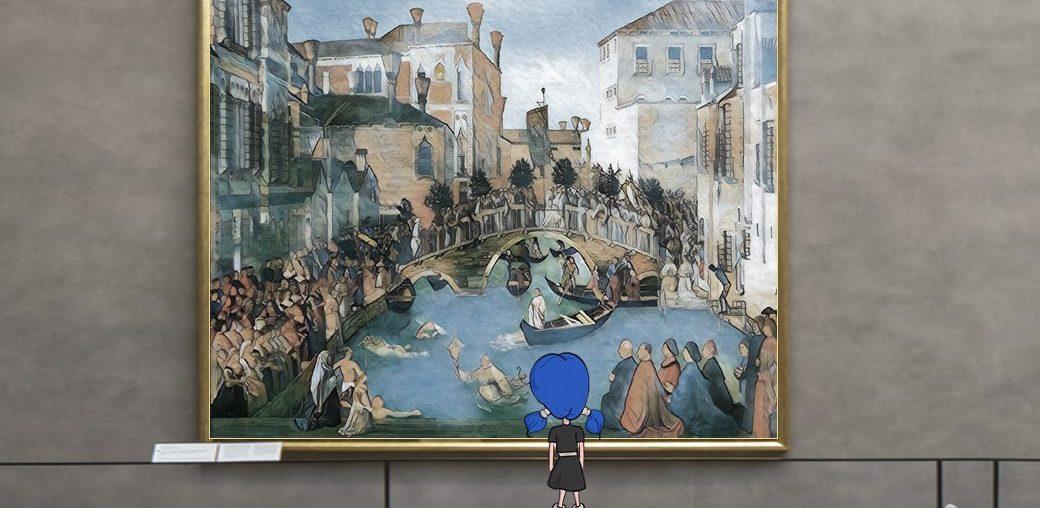 Un tuffo dentro l'arte: Lisa incontra Caterina Cornaro all'Accademia