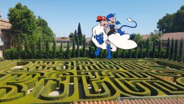 A San Giorgio Maggiore tra animali e labirinti