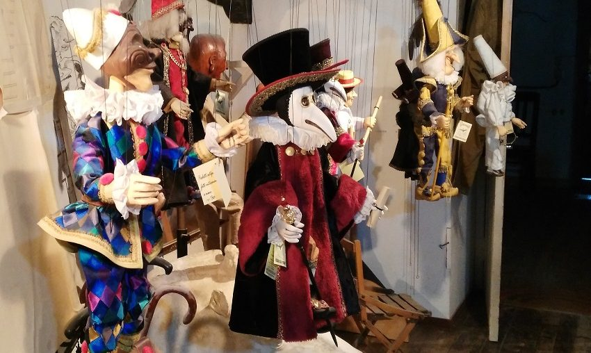 marionette in Venice