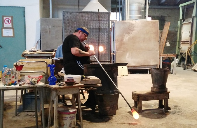 glass blowing murano