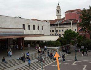 Railway station venice